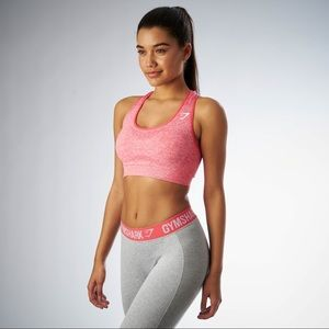 Gymshark pink sports bra